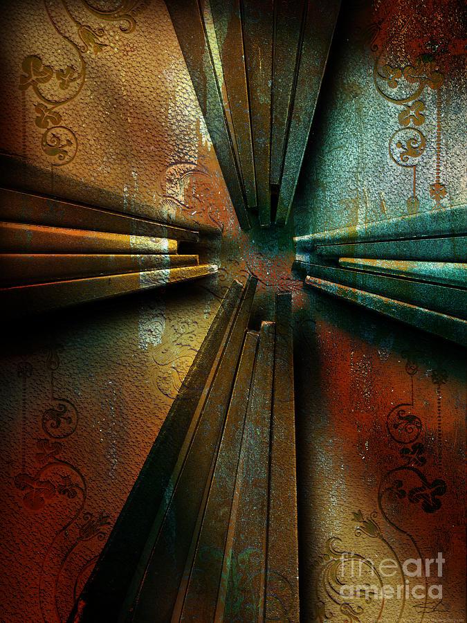 Cross Mixed Media - Nails by Shevon Johnson