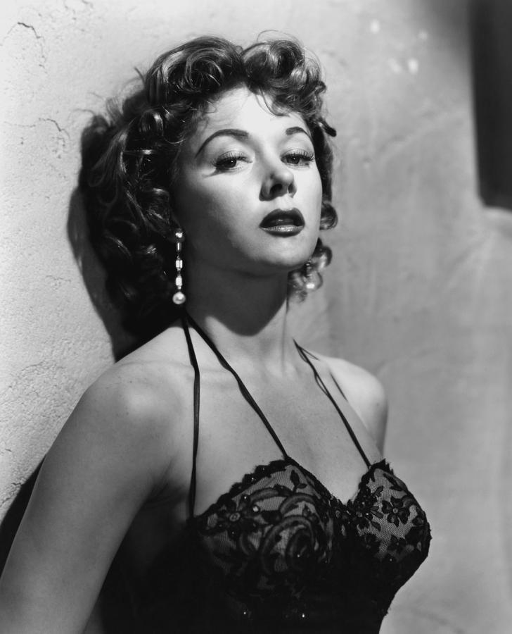 1950s Portraits Photograph - Naked Alibi, Gloria Grahame, 1954 by Everett