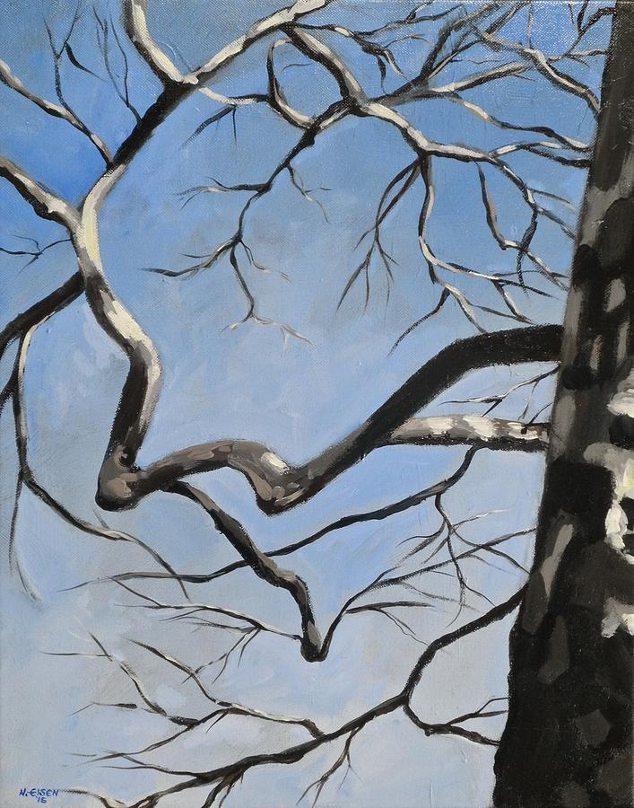 Naked Sycamore by Outre Art  Natalie Eisen