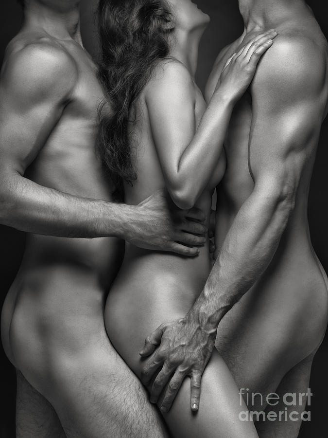 Sexy Naked Men And Women Together