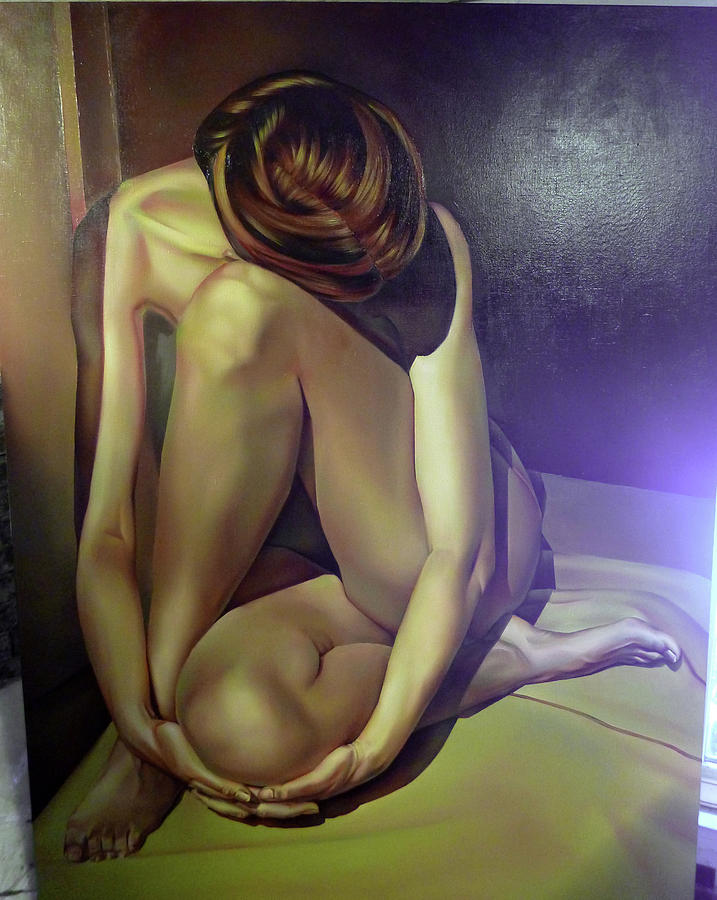 Paintings women naked