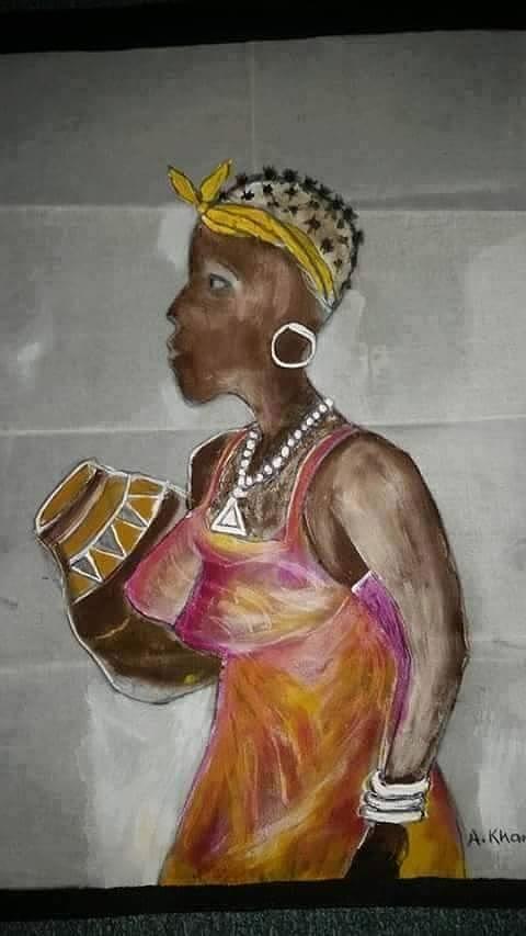 Naliyera Painting by Al Khamula