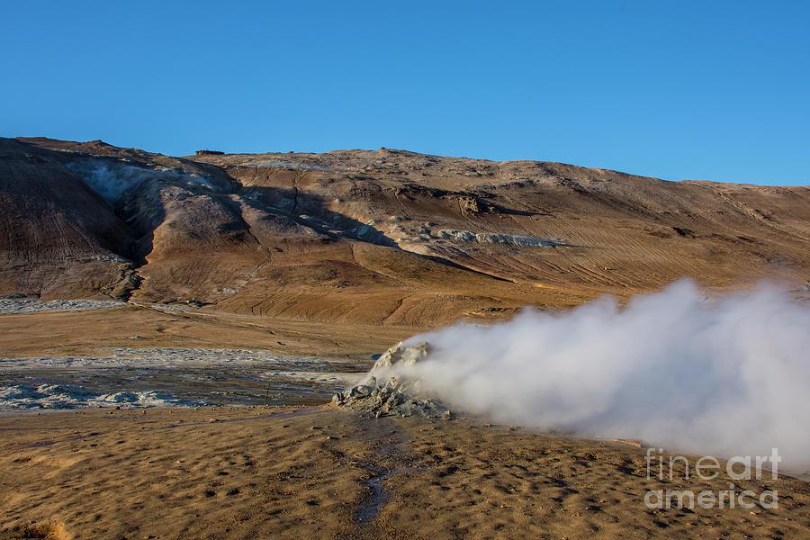 Namafjall Geothermal Photograph