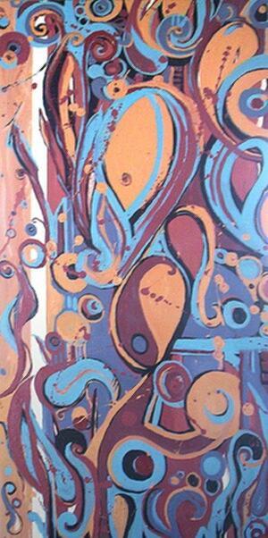 Namaste Painting by Abby Jones