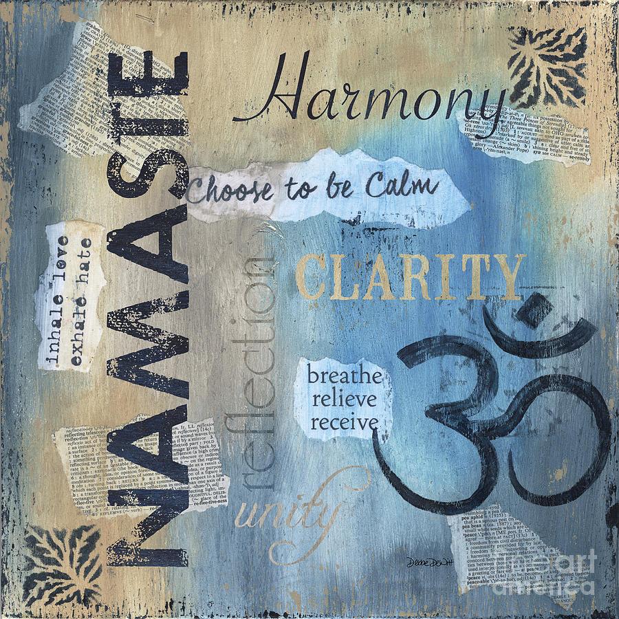 Namaste Painting - Namaste by Debbie DeWitt