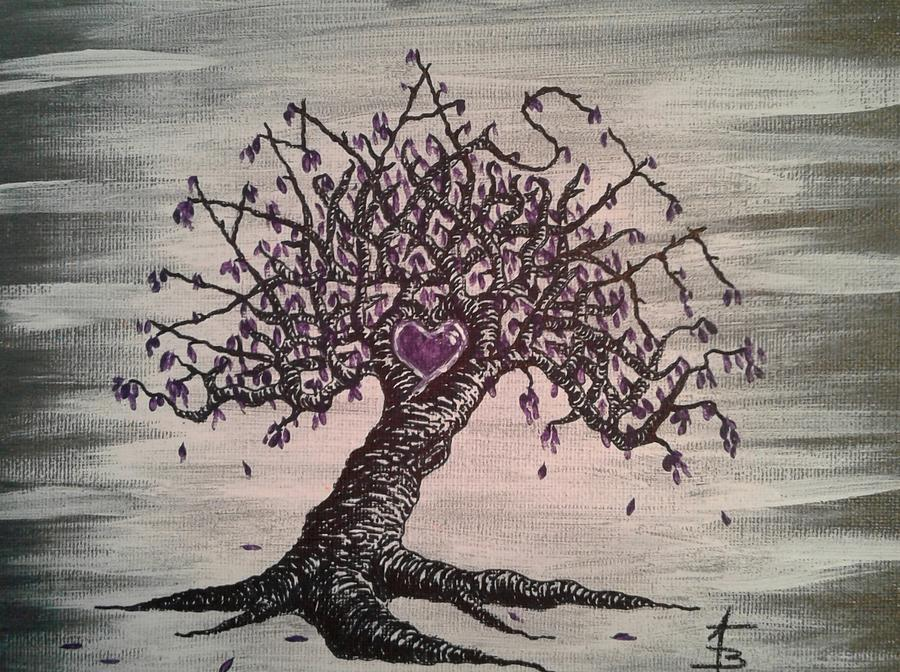 Namaste Love Tree by Aaron Bombalicki
