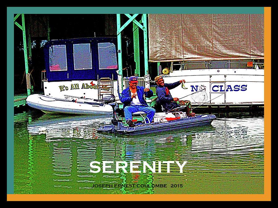 Serenity Photograph - Namaste - Sacramento Delta by Joseph Coulombe