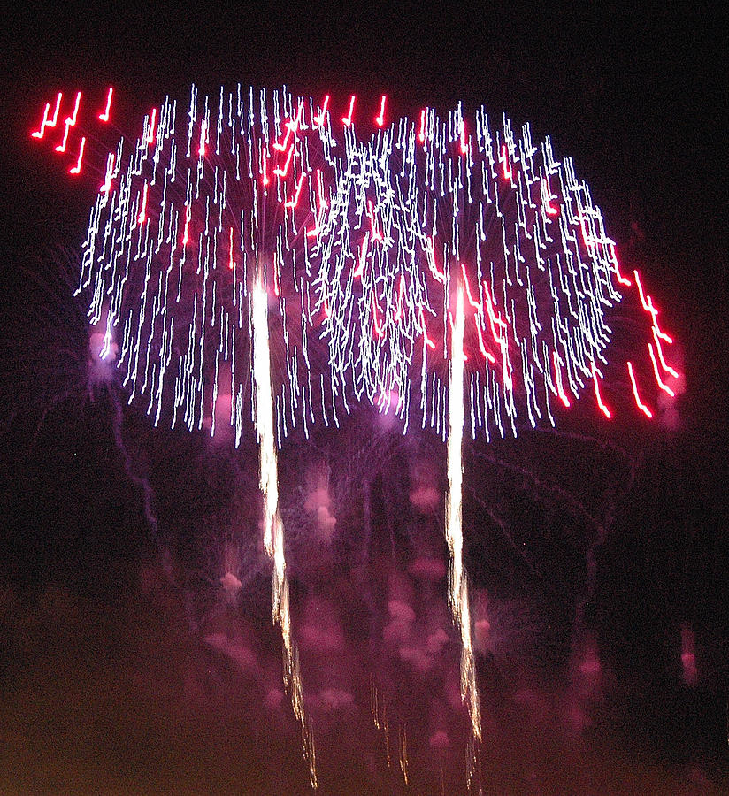 Fireworks Photograph - Name That Tune by Dan Fulk