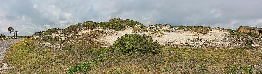 Amelia Island Photograph - Nana Dune, Amelia Island, Florida by Richard Goldman