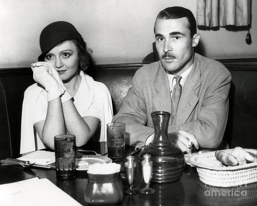 Movie Star Photograph - Nancy Carroll Candid 1932 by Sad Hill - Bizarre Los Angeles Archive