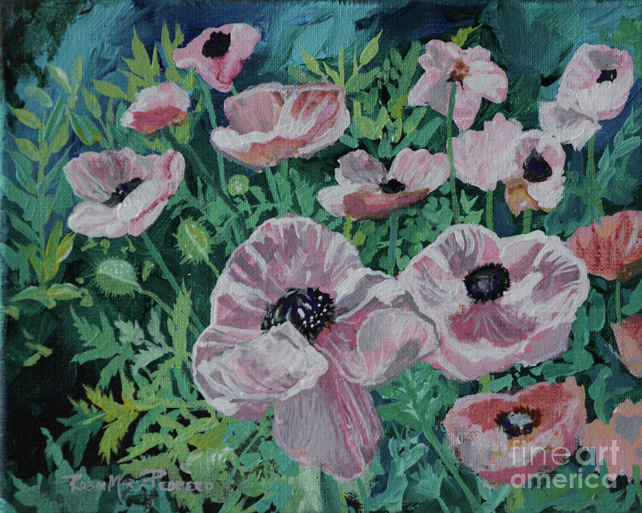 Nancy's Poppies by Robin Maria Pedrero