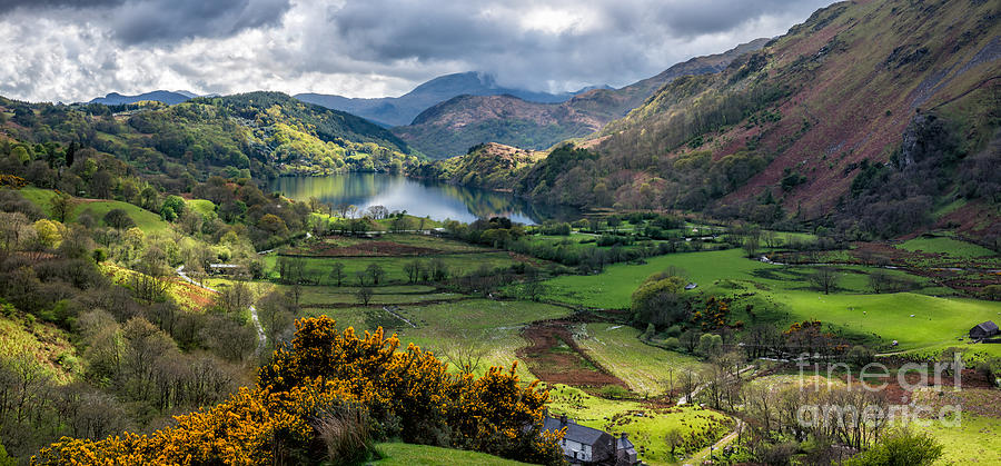 Landscape Photograph - Nant Gwynant Valley by Adrian Evans