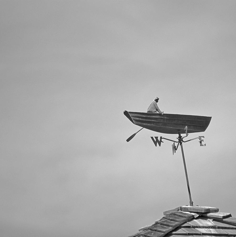 Nantucket Photograph - Nantucket Weather Vane by Charles Harden