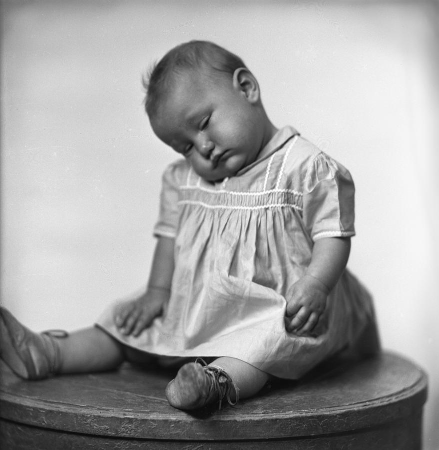 Baby Photograph - Nap Time Is Now by Seely Studio
