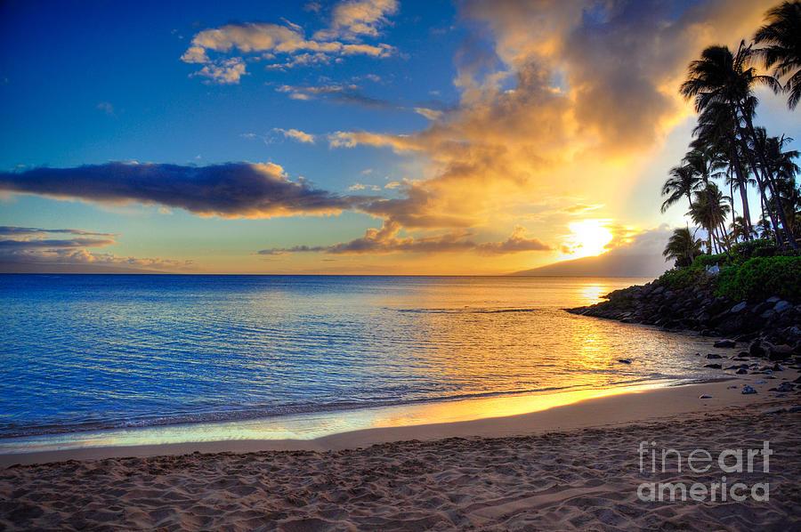 Napili Bay Photograph - Napili Bay Maui by Kelly Wade