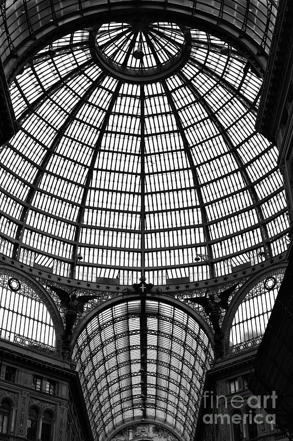 Galleria Photograph - Naples Galleria by John Rizzuto