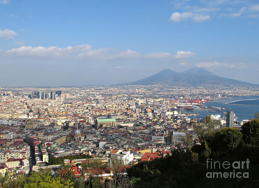 Naples Photograph - Naples Panoramic View by Kiril Stanchev