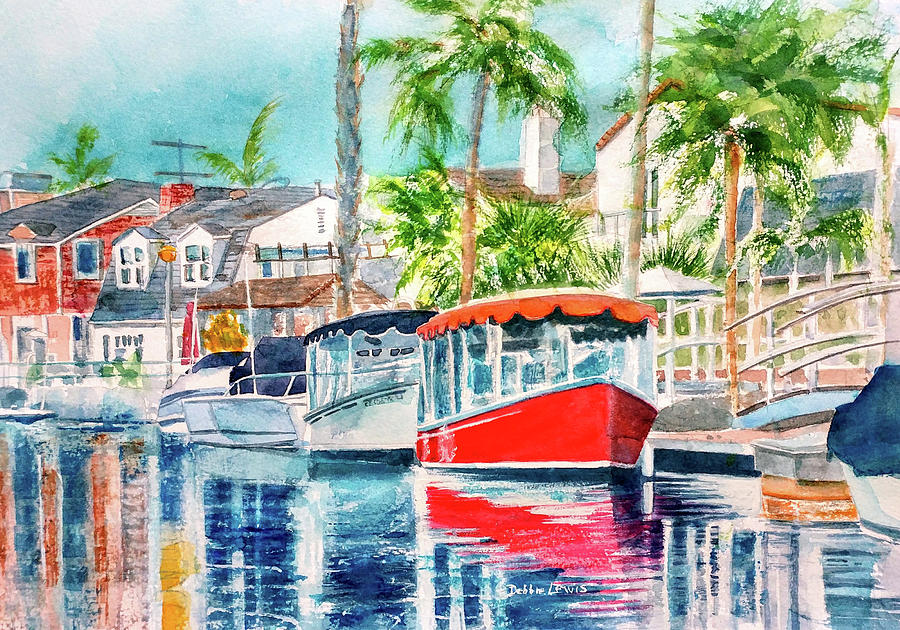 Naples Red by Debbie Lewis