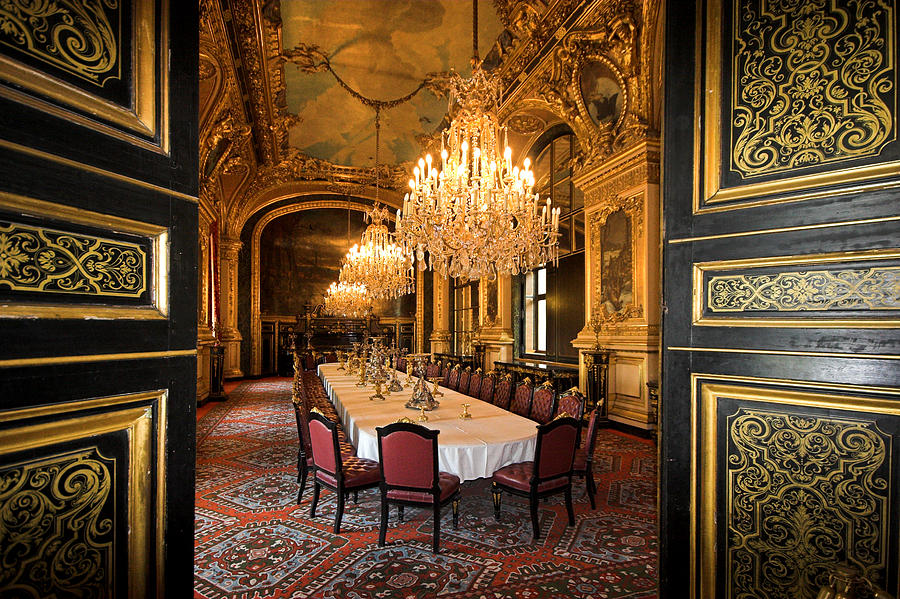 Napoleon Bonaparte S Dinning Room At The Louvre Museum