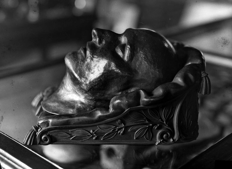Napoleon Photograph - Napoleon Death Mask by Crescent City Collective