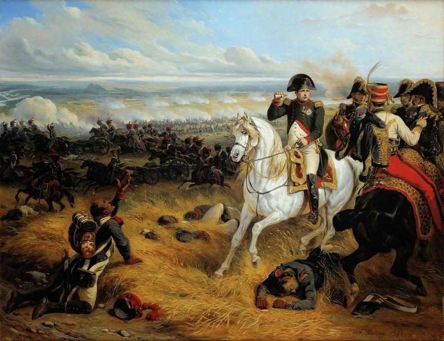 Horse Painting - Napoleon In Wagram by MotionAge Designs