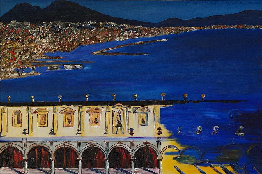 Italy Painting - Napoli by Gregory Allen Page