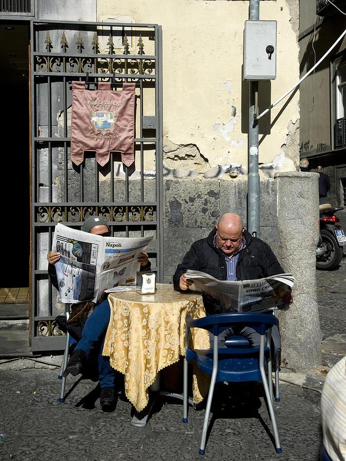 NAPOLI NEWS, NAPLES, 2011. by John Jacquemain