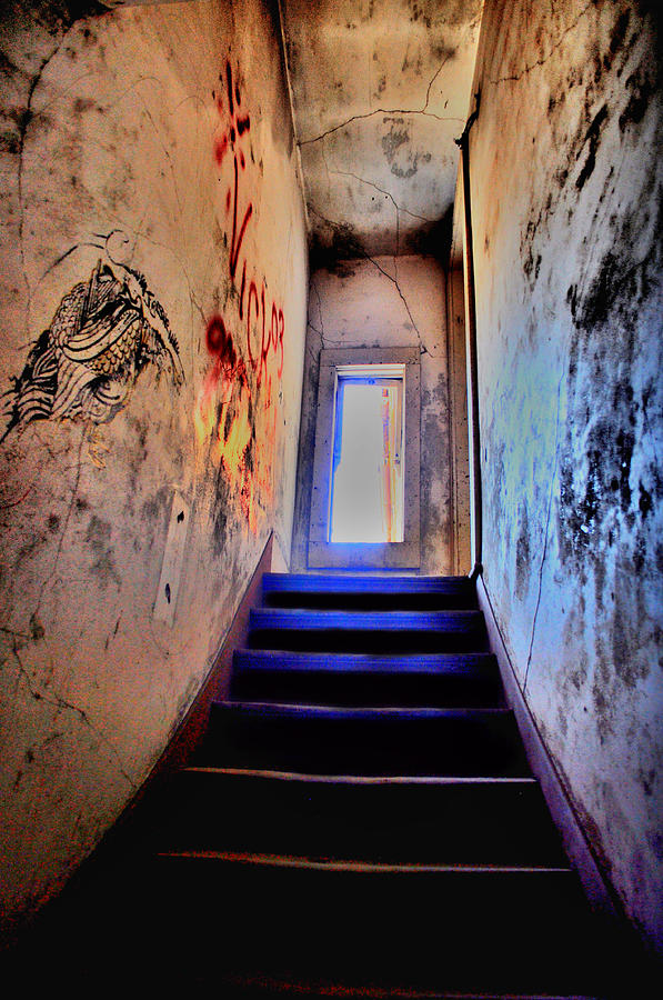 Abandoned Photograph - Narrow Escape by Emily Stauring