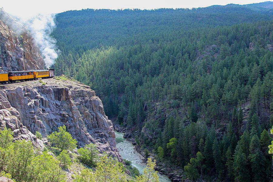Durango Photograph - Narrow Gauge Railroad by Jennifer Ansier