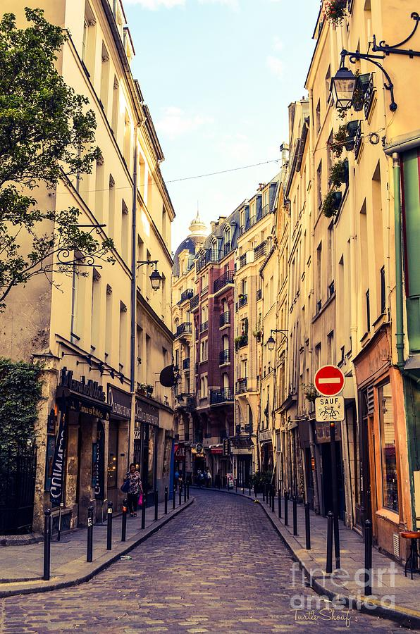 Narrow Streets Of Paris Photograph By Turtle Shoaf