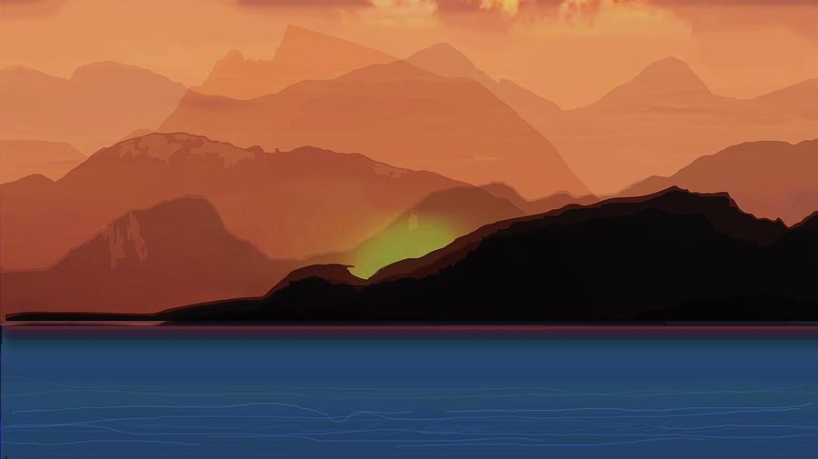 Nascent Wildfire by michaelalonzo kominsky
