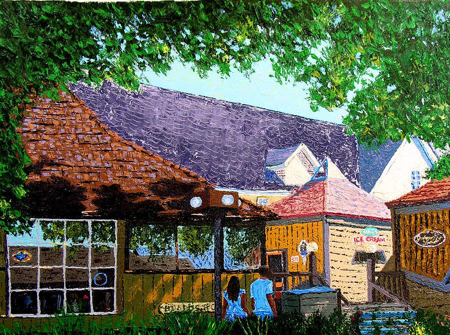 Nashville Painting - Nashville 3-06 by Stan Hamilton