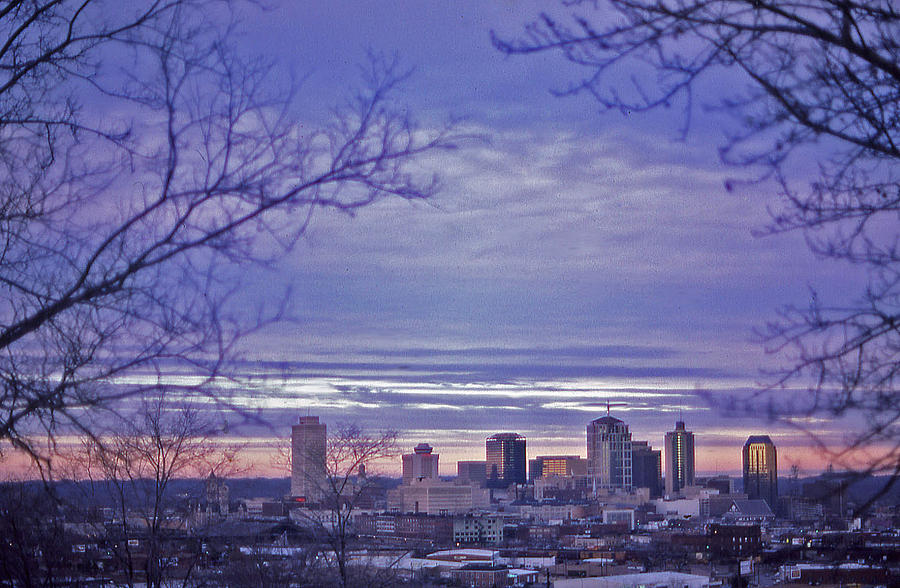 Nashville Photograph - Nashville From The Distance - 2 by Randy Muir
