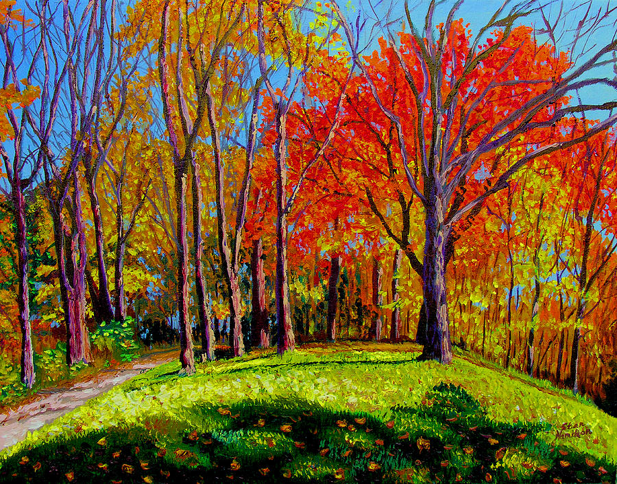 Nashville North Painting by Stan Hamilton