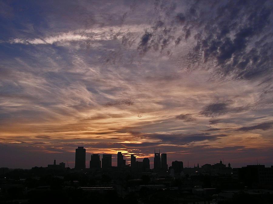 Nashville Photograph - Nashville Sunrise - 2 by Randy Muir