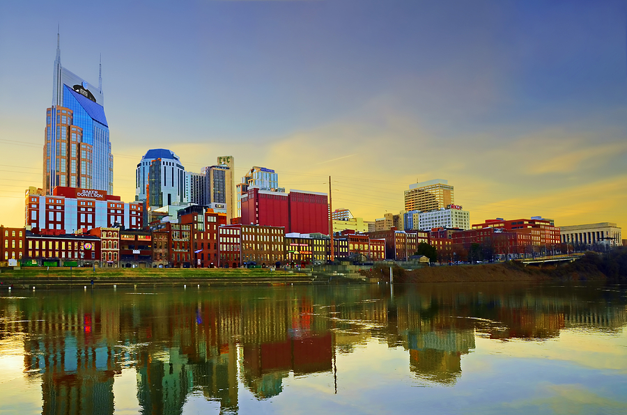 Downtown Photograph - Nashville Tennessee by Steven  Michael