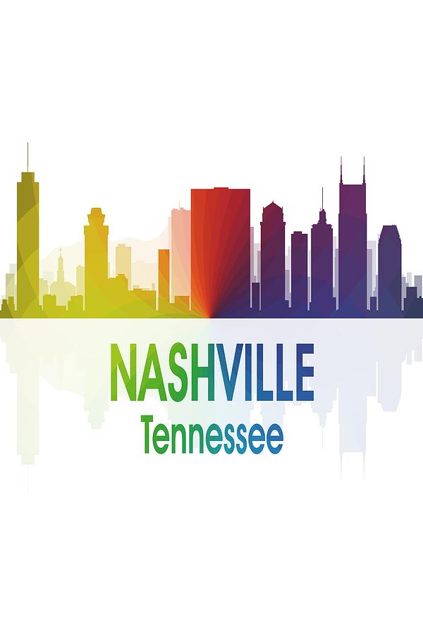 Nashville Digital Art - Nashville Tn 1 Vertical by Angelina Tamez