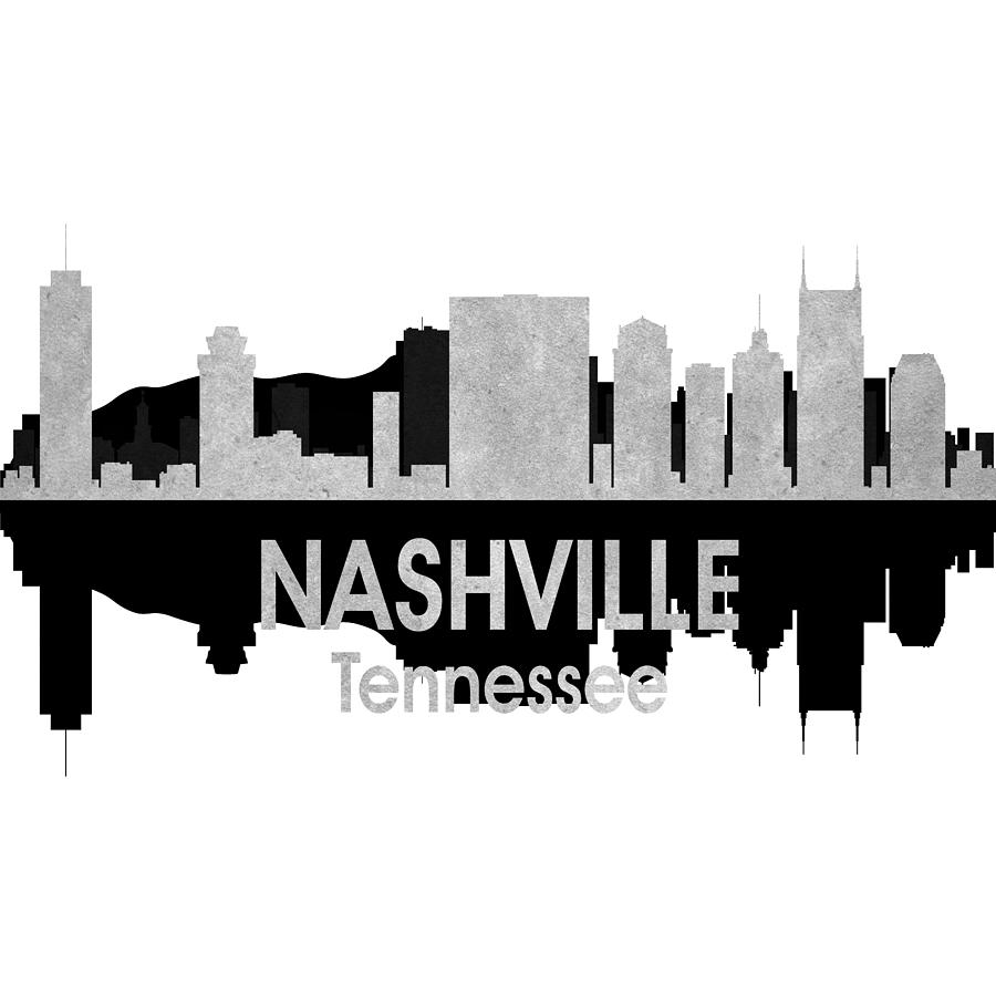 Nashville Digital Art - Nashville Tn 4 Squared by Angelina Tamez