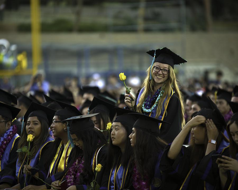 Natalia's Grad Photo by John King