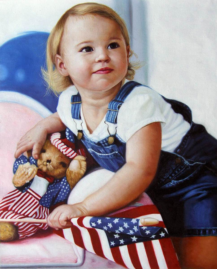 Natalie Painting by PortraitPainting