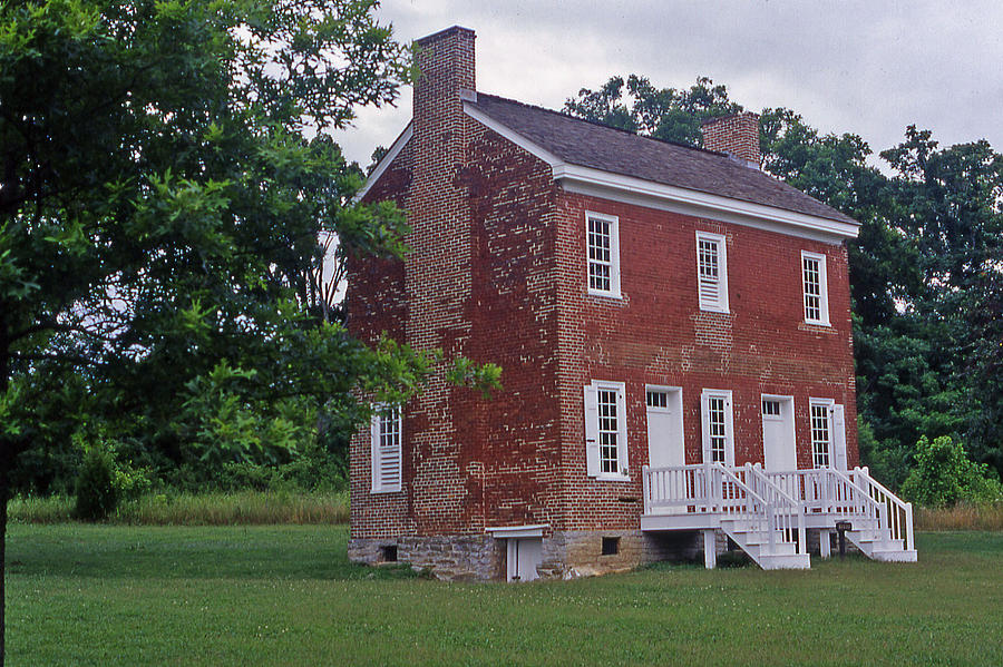 Tennessee Photograph - Natchez Trace Gordon House - 2 by Randy Muir