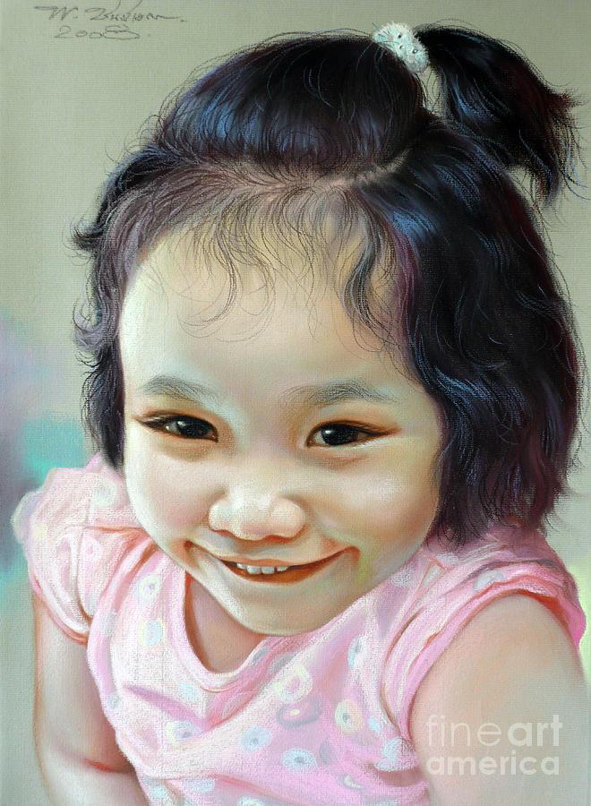 Nathakamon Phanwichien Painting by Chonkhet Phanwichien