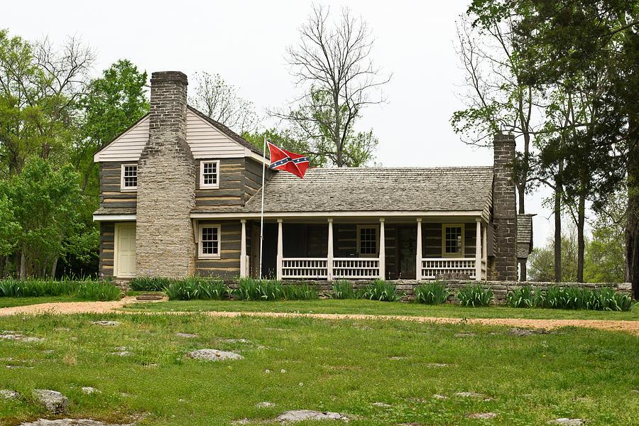 Nathan Photograph - Nathan Bedford Forrest Boyhood Home 3 by Douglas Barnett