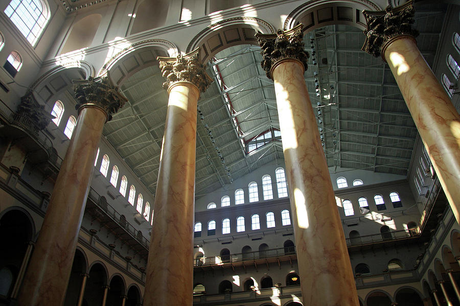Washington Photograph - National Building Museum by Cora Wandel