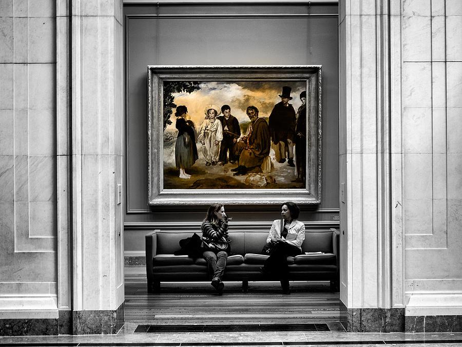 Washington Photograph - National Gallery Of Art Interiour 3 by Frank Verreyken
