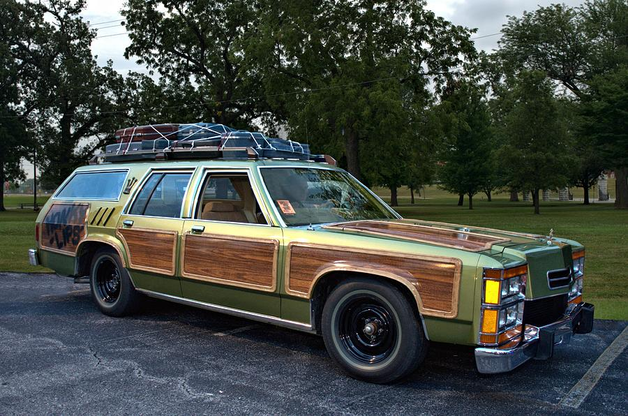 National Lampoons Vacation Truckster Replica Photograph By Tim