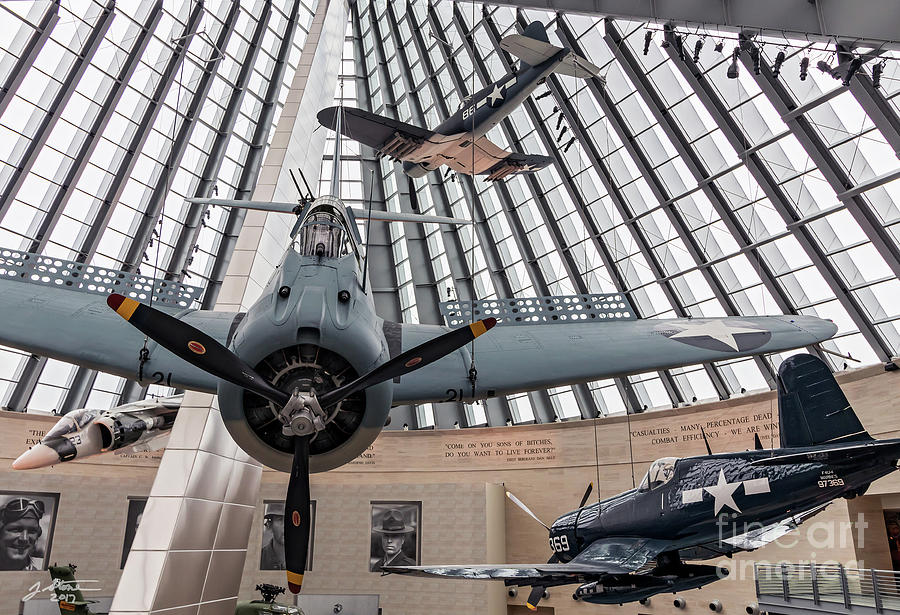 National Museum Of The Marine Corps Atrium Photograph by Jeffrey Stone