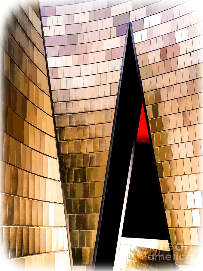 Abstract Photograph - National Music Centre Canada No. 1 - Dynamic by Bob Lentz