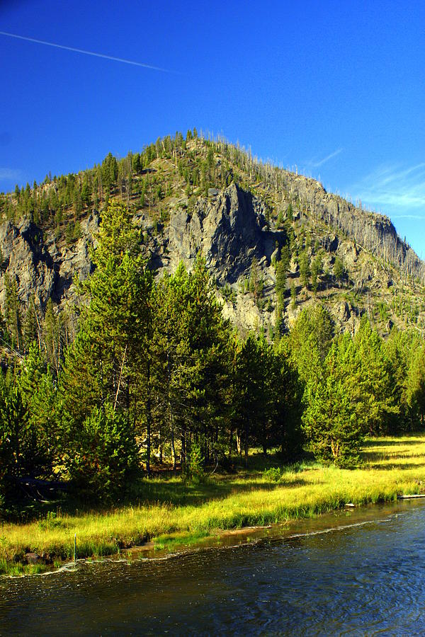 Yellowstone National Park Photograph - National Park Mountain by Marty Koch
