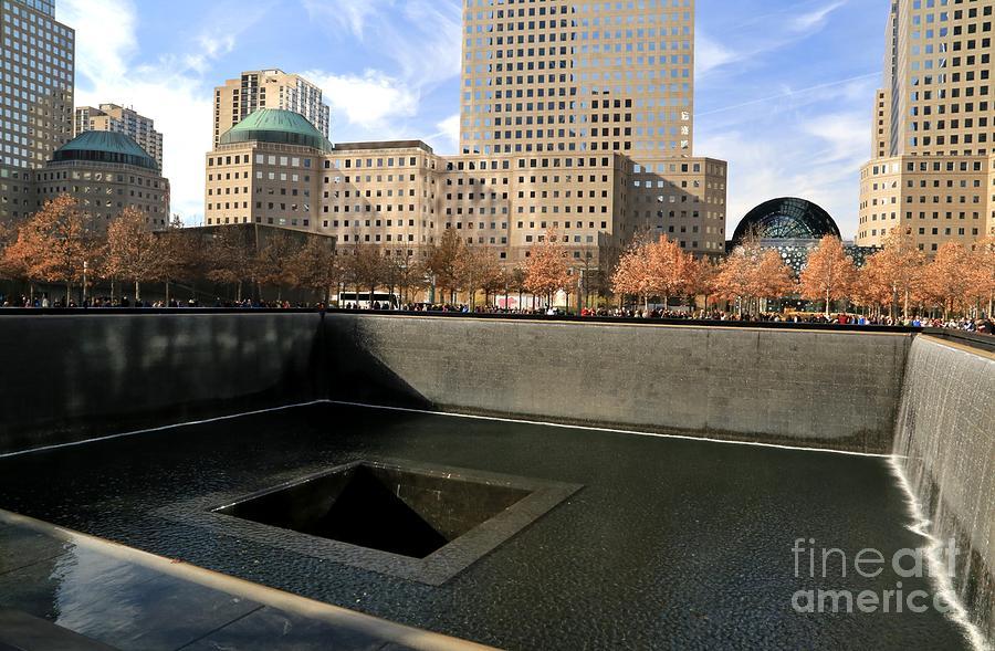 Destination Photograph - National September 11 Memorial New York City by Douglas Sacha